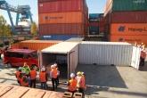 Container richtig packen