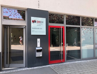 Eingang DHBW
